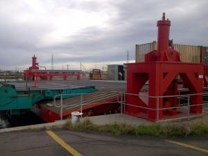 Tide Bridge Emergency Locking System